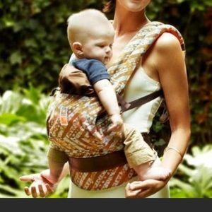 Ergobaby Brown Orange & Blue Designer Baby Carrier